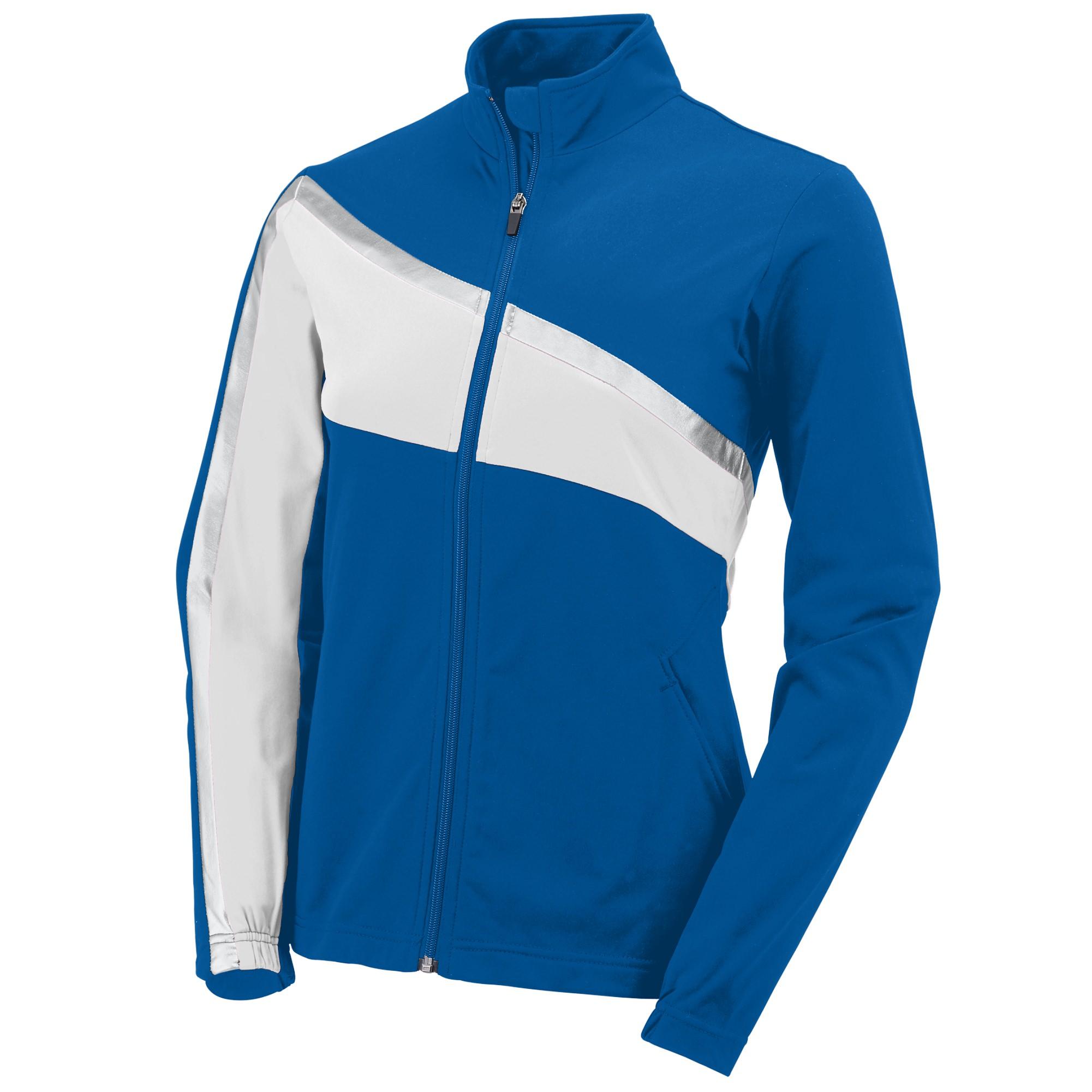 8278385c1a6 Girls Full Zip Outerwear from Augusta Sportswear