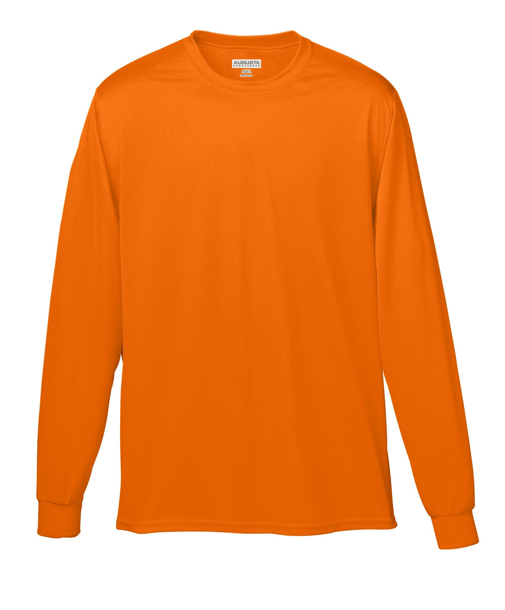 Men s Long Sleeve Athletic Tops from Augusta Sportswear e7ad577f4f8