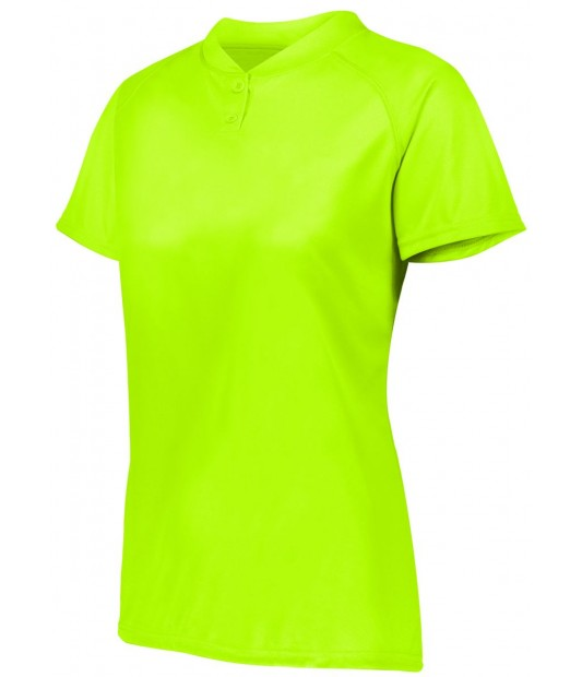 AUGUSTA SPORTSWEAR WOMENS ATTAIN TWO-BUTTON JERSEY