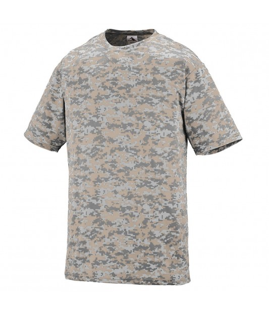 Augusta Sportswear Youth Digi Camo Wicking T-Shirt
