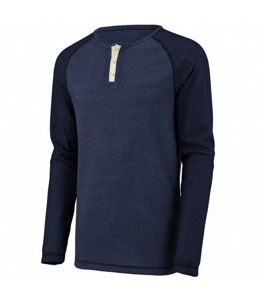 Men's Linear Fusion Long Sleeve Henley