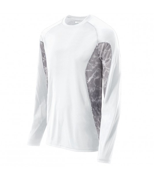 Mens Long Sleeve Tidal Shirt