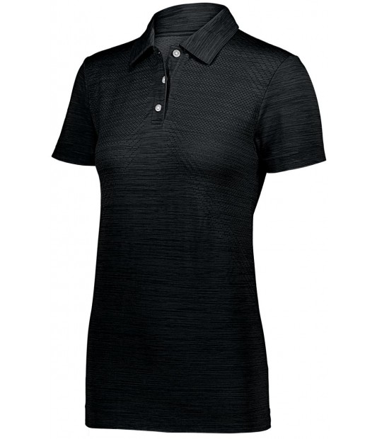 Holloway Sportswear  Ladies Striated Polo