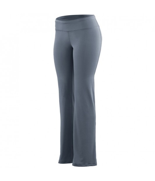 Womens Wide Waist Poly/Spandex Pant