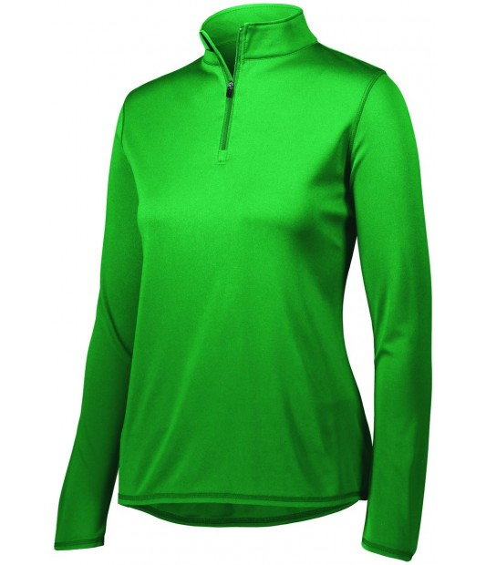 AUGUSTA SPORTSWEAR WOMENS ATTAIN 1/4 ZIP PULLOVER
