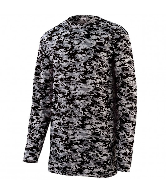 Augusta Sportswear Digi Camo Wicking Long Sleeve T-Shirt