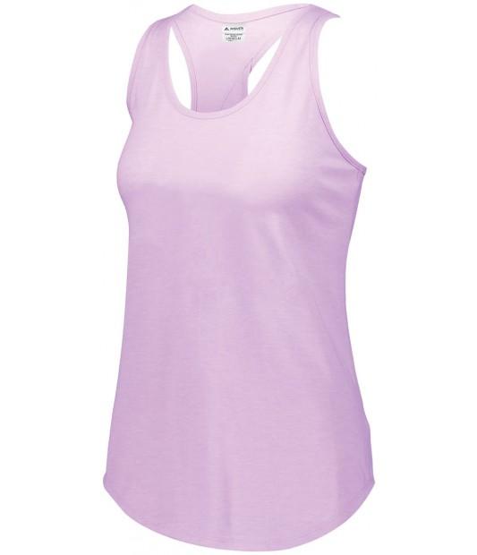 Augusta Sportswear Girls Lux Tri-Blend Tank