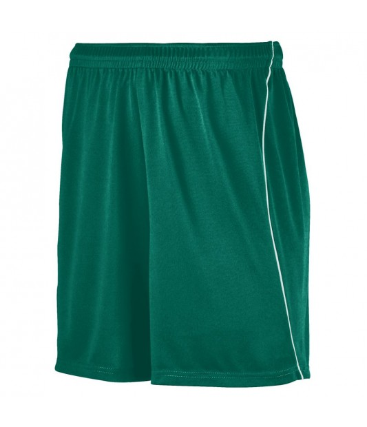 MEN'S WICKING SOCCER SHORT WITH PIPING