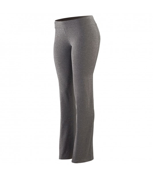 Women's Wide Waist Brushed Back Poly/Spandex Pant