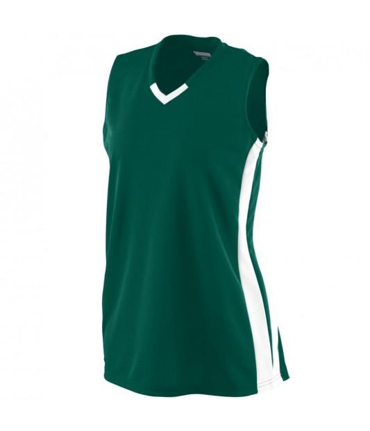 Augusta Sportswear Girls' Wicking Mesh Powerhouse Jersey