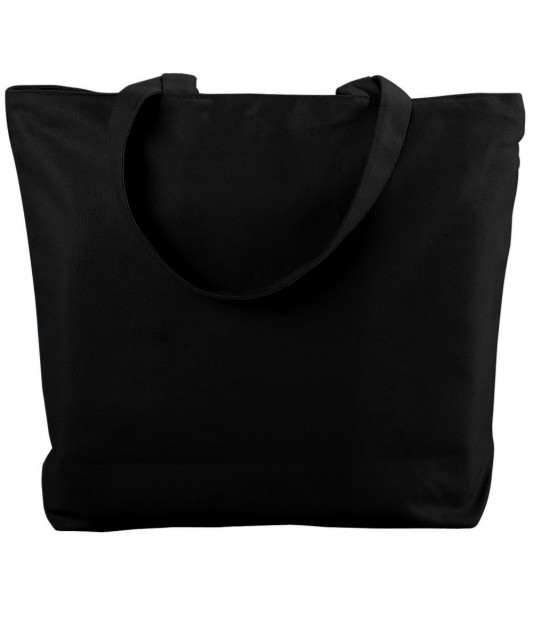 Canvas Zipper Tote