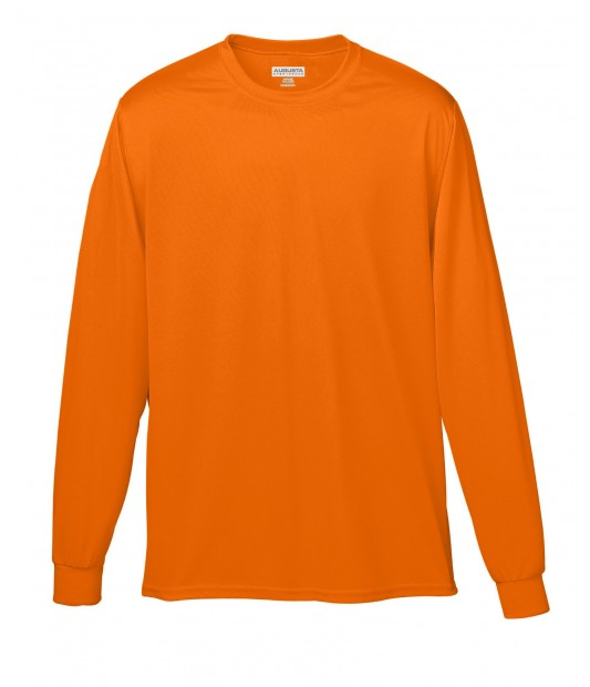 Augusta Sportswear Adult Wicking Long Sleeve T-Shirt