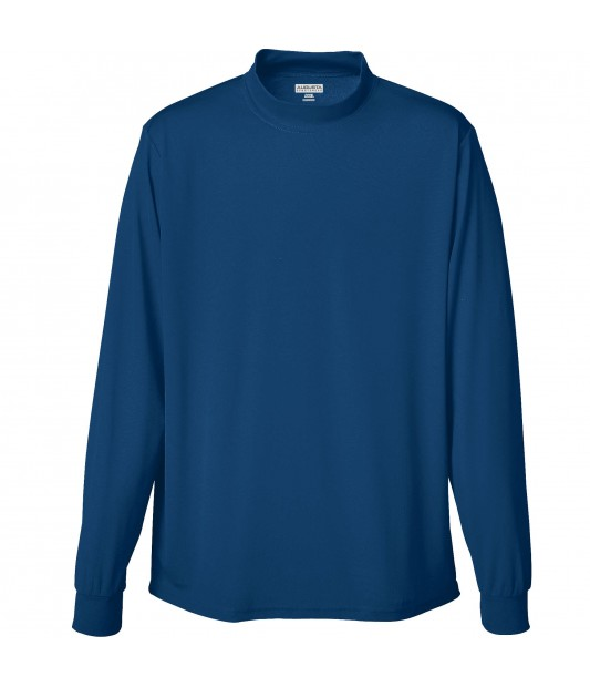 Boys Wicking Mock Turtleneck
