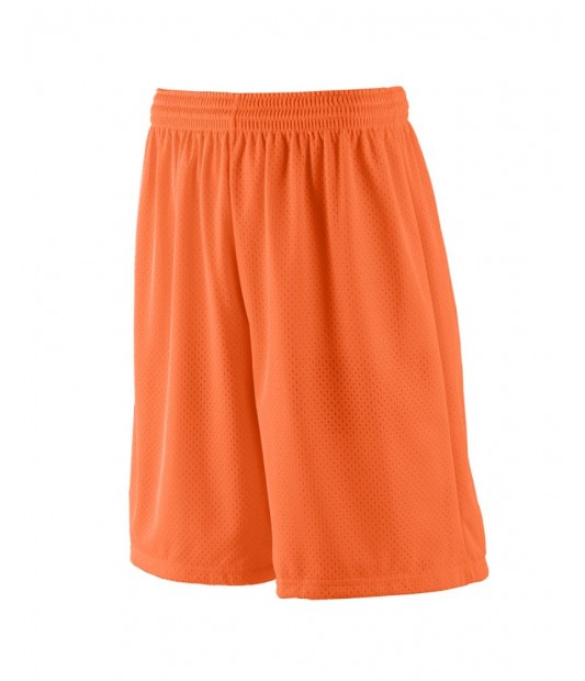 BOYS LONG LINED TRICOT MESH SHORTS