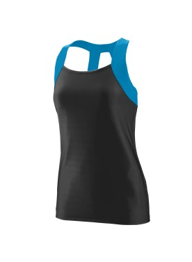 WOMEN'S JAZZY OPEN BACK TANK