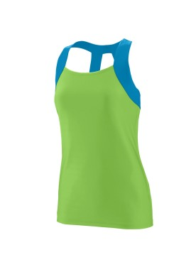GIRLS' JAZZY OPEN BACK TANK
