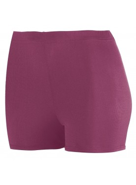 "Womens POLY/SPANDEX 2.5"" SHORTS"