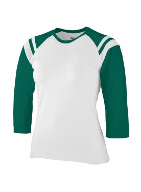 WOMEN'S JUNIOR FIT COTTON/SPANDEX LEGACY TEE