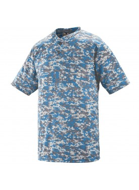 Digi Camo Wicking Two-Button Jersey