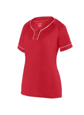 Womens OVERPOWER TWO-BUTTON JERSEY