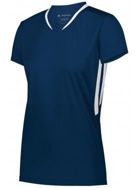 AUGUSTA SPORTSWEAR GIRLS FULL FORCE SHORT SLEEVE JERSEY