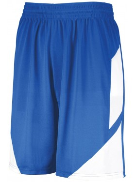 AUGUSTA SPORTSWEAR BOYS STEP-BACK BASKETBALL SHORTS
