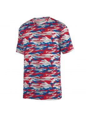 Boys Mod Camo Wicking Tee