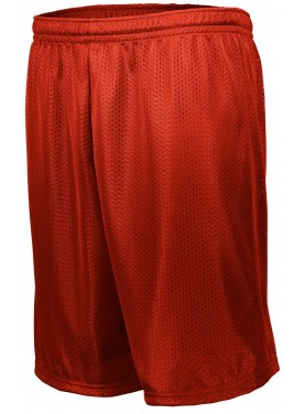 AUGUSTA SPORTSWEAR LONGER LENGTH TRICOT MESH SHORTS