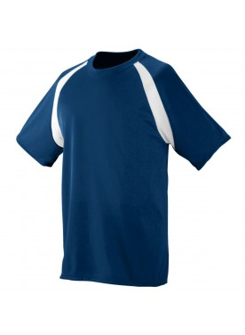 AUGUSTA SPORTSWEAR BOYS WICKING COLOR BLOCK JERSEY