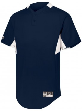 HOLLOWAY SPORTSWEAR BOYS  GAME7 TWO-BUTTON BASEBALL JERSEY