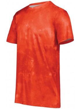 HOLLOWAY SPORTSWEAR BOYS COTTON-TOUCH POLY CLOUD TEE