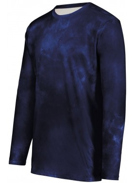 HOLLOWAY SPORTSWEAR COTTON-TOUCH POLY CLOUD LONG SLEEVE TEE