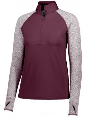 HOLLOWAY SPORTSWEAR WOMENS AXIS 1/2 ZIP PULLOVER