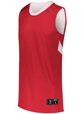 HOLLOWAY SPORTSWEAR DUAL-SIDE SINGLE PLY BASKETBALL JERSEY