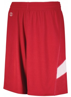 HOLLOWAY SPORTSWEAR BOYS DUAL-SIDE SINGLE PLY BASKETBALL SHORTS