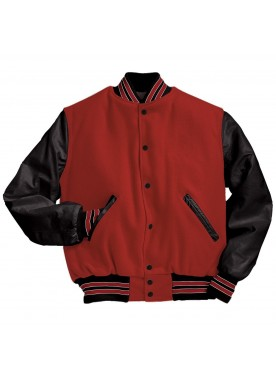 HOLLOWAY SPORTSWEAR MEN VARSITY JACKET