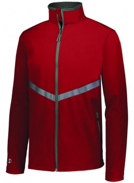 HOLLOWAY SPORTSWEAR 3D REGULATE SOFT SHELL JACKET