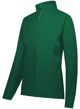 HOLLOWAY SPORTSWEAR WOMENS FEATHERLIGHT SOFT SHELL JACKET