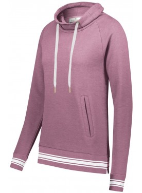 HOLLOWAY SPORTSWEAR WOMENS IVY LEAGUE FUNNEL NECK PULLOVER