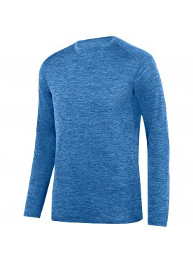 Men's Intensify Black Heather Long Sleeve Tee