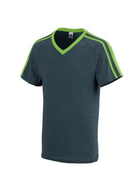 BOYS' GET ROWDY SHOULDER STRIPE TEE