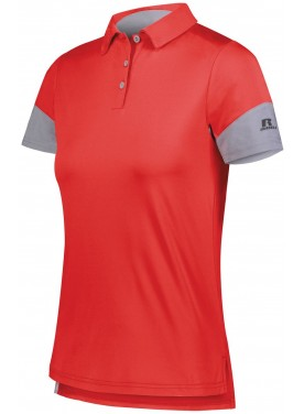 RUSSELL WOMENS HYBRID POLO