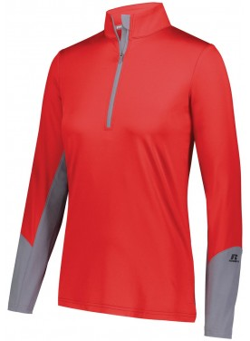 RUSSELL WOMENS HYBRID PULLOVER