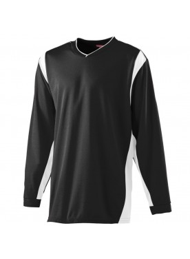Wicking Long Sleeve Warm-up Shirt