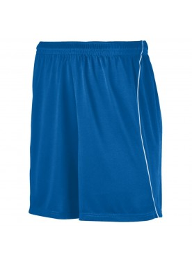 Boys WICKING SOCCER SHORTS WITH PIPING