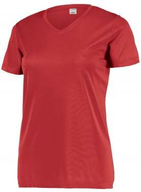 Womens Attain Set-In Sleeve Wicking Tee