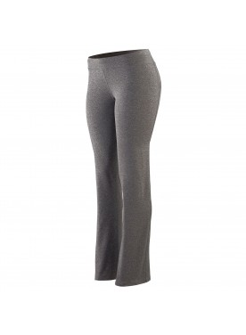 WOMENS WIDE WAIST BRUSHED BACK POLY/SPANDEX PANT