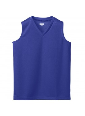 AUGUSTA SPORTSWEAR GIRLS WICKING MESH SLEEVELESS JERSEY