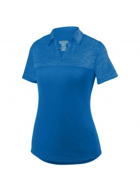 Ladies Shadow Tonal Heather Polo