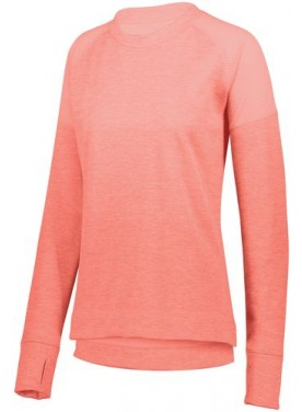Womens Zoe Tonal Heather Pullover